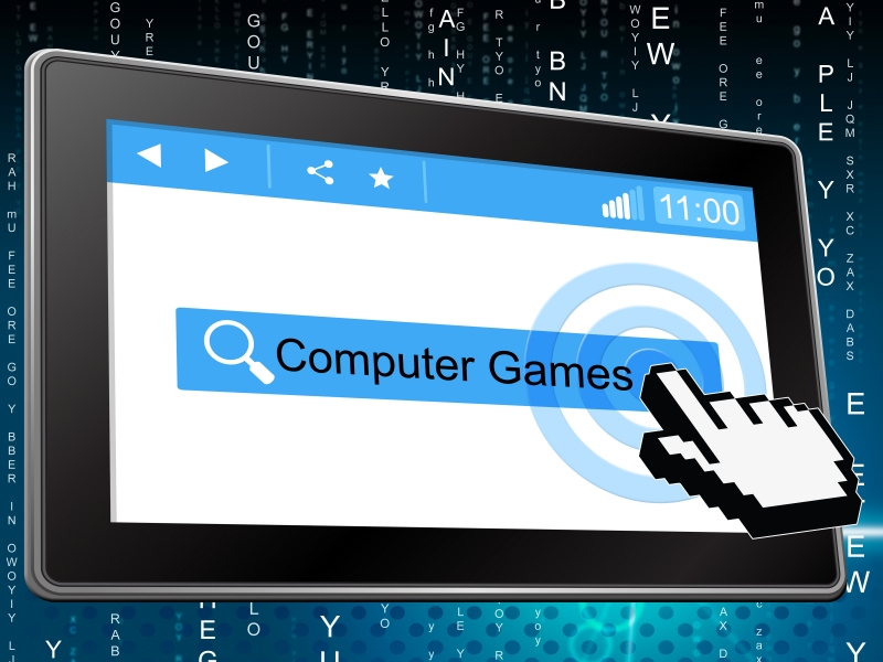 9888178-computer-games-represents-world-wide-web-and-fun